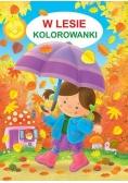 Kolorowanka - W lesie