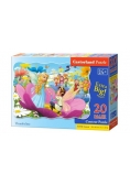 Puzzle Maxi Konturowe:Thumbelina 20
