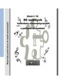 50 ważnych twierdzeń matematycznych... w.2