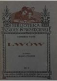Lwów z cyklu miasta Polskie, 1933r.