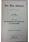 Das Neue Testament uberfezt und erflart, 1873 r.
