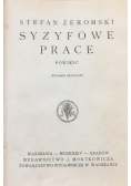 Syzyfowe prace, 1934 r.