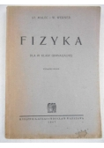 Fizyka dla IV klasy gimnazjalnej, 1947 r.