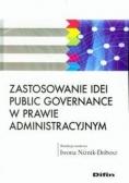 Zastosowanie idei public governance w prawie adm.