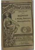 Rozmowa z Matką Makryną Mieczysławską, ok.1918r.