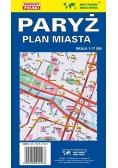 Paryż 1:17 000 Plan miasta PIĘTKA