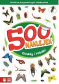 500 naklejek. Owady i robaki