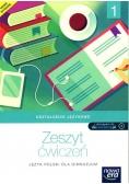 J.Polski GIM 1 Kształcenie językowe ćw NE