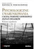 Psychologiczne uwarunkowania i ocena wartości...