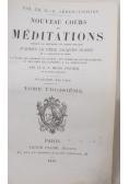 Nouveau Cours de Meditations, 1873 r.