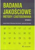 Badania jakościowe - metody i zastosowania w.II