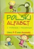 Polski alfabet z piórkiem i pazurkiem Litery P-Ż