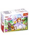 Puzzle 54 mini Magiczny świat księżniczki 3 TREFL