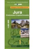 Mapa Turystyczna EuroPilot. Jura Krk-Częst. br