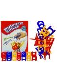 Gra Spadające Krzesła Ułóż Kolorową Wieżę