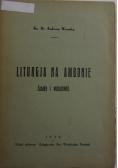 Liturgja na ambonie.Zasady i wskazówki,1933r.