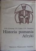Historia poznania Afryki
