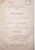 Kazania i przemowy Pasterskie do Ludu Wiejskiego , 1912 r.