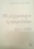 Muzykologia krakowska 1911 - 1986