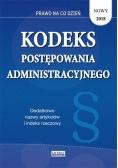Kodeks postępowania administracyjnego 2018