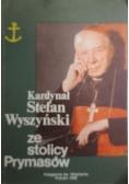 Kardynał Stefan Wyszyński ze stolicy Prymasów