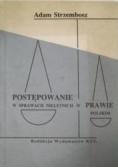 Postępowanie w sprawach nieletnich w prawie polskim