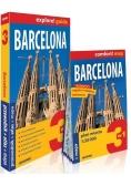 Barcelona explore! Guide 3w1: przewodnik +  mapa
