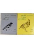 Ptaki ziem polskich, Tom I - II