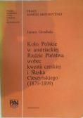 Koło Polskie w austriackiej radzie Państwa wobec kwestii czeskiej i Śląska Cieszyńskiego (1879-1899)
