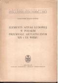 Elementy sztuki ludowej w polskim przemysle artystycznym XIX i XX wieku
