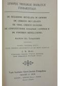 Synopsis theologiae dogmaticae,1949r.