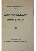 Czy Go znasz?, 1933 r.