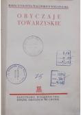 Obyczaje Towarzyskie, 1938 r.