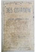 365 obiadów, 1911 r.