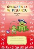 Ćwiczenia w pisaniu Zeszyt 4 6-7 lat