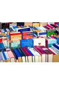 Zestaw 50 losowo wybranych książek
