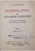 Rozmyślania dla kapłanów i kleryków, Część II, 1932 r.