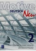 Motive Deutsch Neu 2 Zeszyt ćwiczeń Kurs dla kontynuujących naukę Zakres podstawowy i rozszerzony