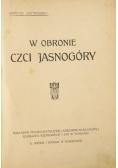 W obronie czci Jasnogóry, 1911 r.