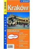 Kraków - plan miasta 1:20 000