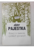 Rzecz o świecie i polskich sprawach