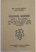 Przestrogi duchowe, 1936 r
