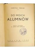 Do moich alumnów, 1933 r.