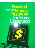 Personal Finance Programs for Home Computers