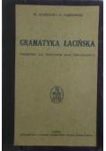 Gramatyka łacińska, 1934 r.