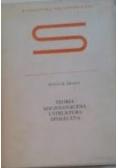 Teoria socjologiczna i struktura społeczna