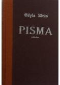 Edyta Stein Pisma, tom I
