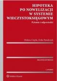 Hipoteka po nowelizacji w systemie wieczystoksięg.