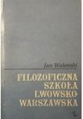 Filozoficzna szkoła lwowsko - warszawska