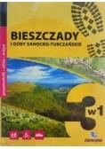 Bieszczady i góry Sanocko - Turczańskie